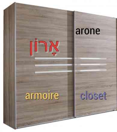 armoire en israel