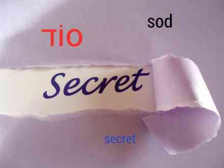 Secret סוד